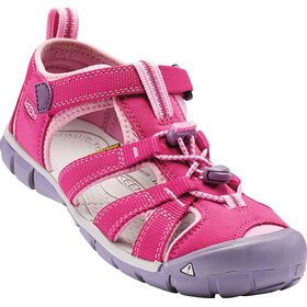 Keen Seacamp II CNX Sandals Ungdom very berry/lilac chiffon